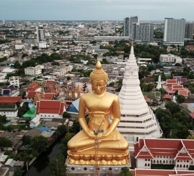Giant Buddha statue to draw massive tourist crowds once pandemic ends